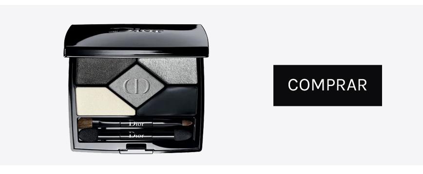 Paleta de sombras de ojos grises Dior