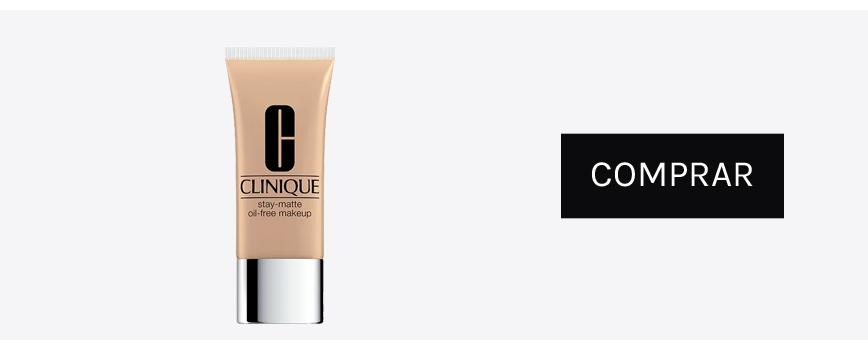 Clinique maquillaje piel grasa