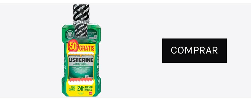 Listerine pack enjuague bucal