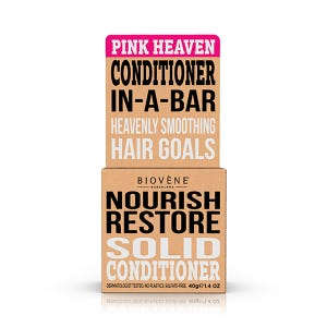 Nourish Restore Solid Conditioner Pink Heaven
