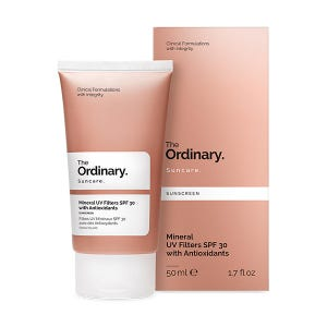 Mineral Uv Filters Spf30 With Antioxidants