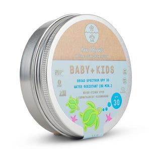 Baby + Kids Natural Sunscreen Lotion Spf30