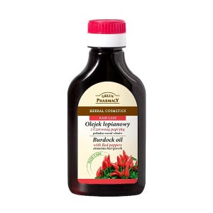Burdock Oil With Red Peppers