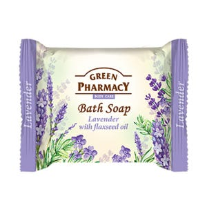 Bath Soap Lavender With Flaxseed Oil