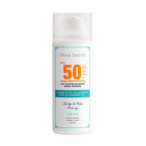 Anti-Pollution Face Mineral Sunscreen Spf50