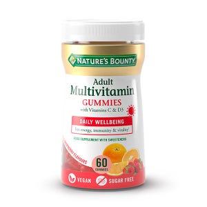 Multivitamínico Adultos Vitamina C Y D3 Gummies
