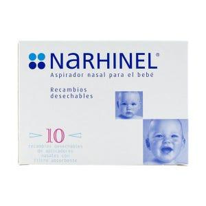 Recambios Blandos Desechables Con Filtro Absorbente  Narhinel